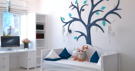 Kreatívne riešenie na ukladanie vecí a hračiek v detskej izbe