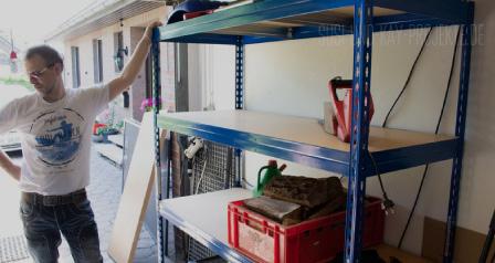 Poriadok v garáži u Susi a Kaya