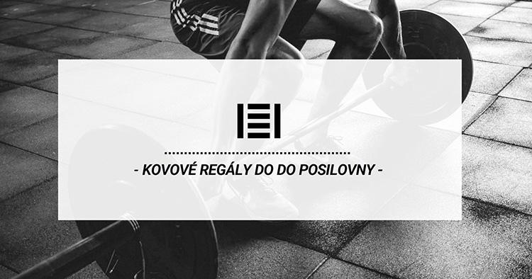 Kovové regály pre posilňovňu a fitness