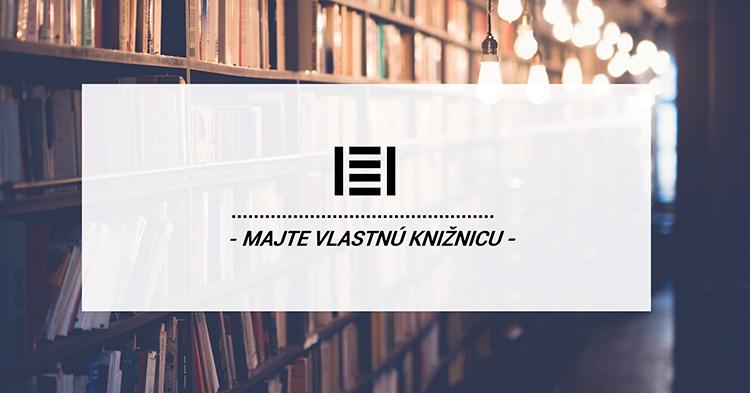 Majte vlastnú knižnicu | Majster Regál