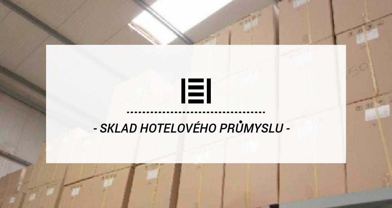 Kovové regály v skladoch pre hotelový priemysel