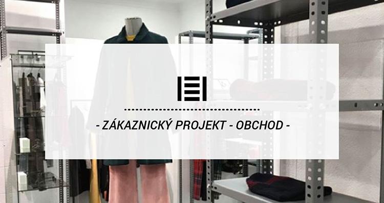 Zákaznícky projekt - Kovové regály v obchode